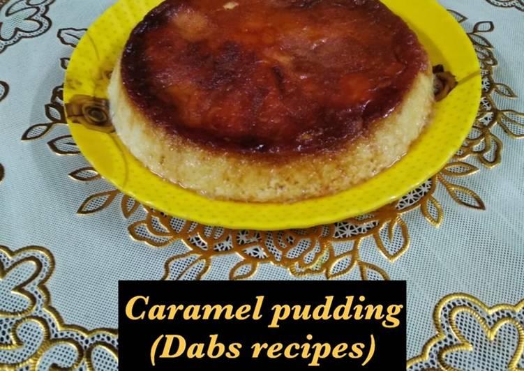 Caramel pudding (steam method)
