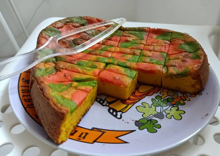cara memasak Bolu labu jelita (low carb) - Sajian Dapur Bunda