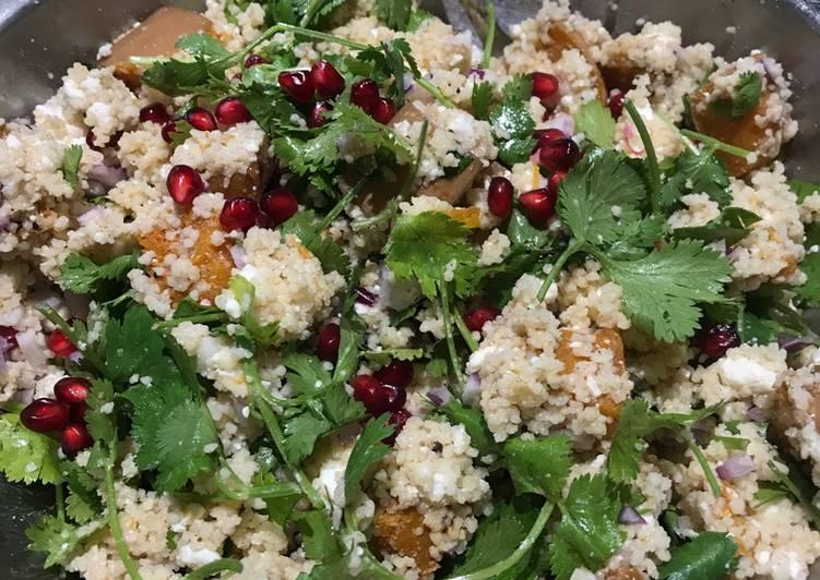 Easiest Way to Make Most Popular Butternut squash, feta, pomegranate salad