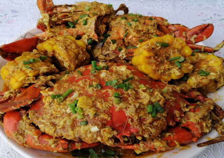 Kepiting Saus Padang Enak Bangat!!!