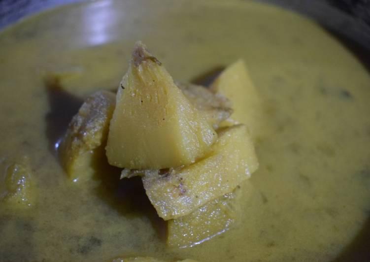 Recipe of Award-winning Breadfruit Curry