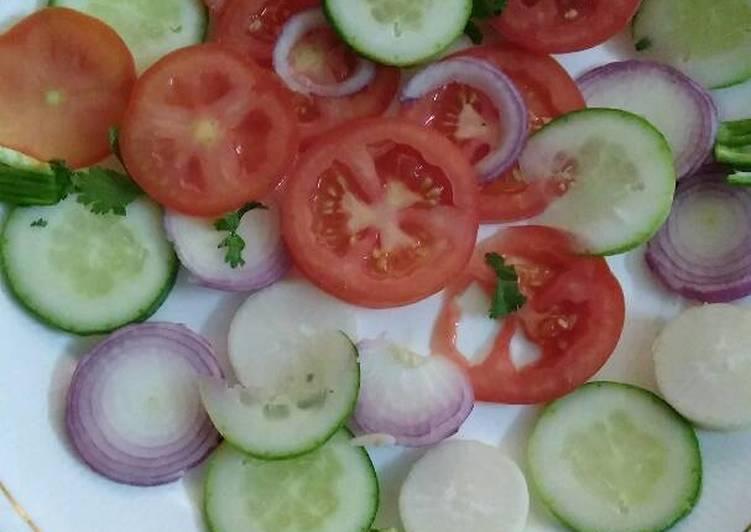 Veg simple salad