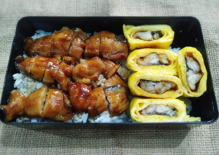 Unagi & Umaki Bento