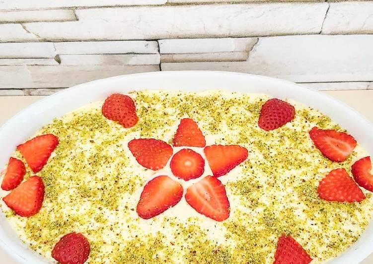 Ricetta Tiramisù fragole e limoncello