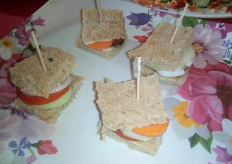 Easiest Way to Prepare Most Popular Brown bread sandwich