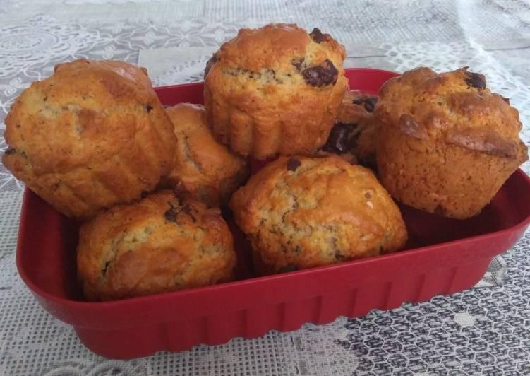 Muffins chocolat-noix