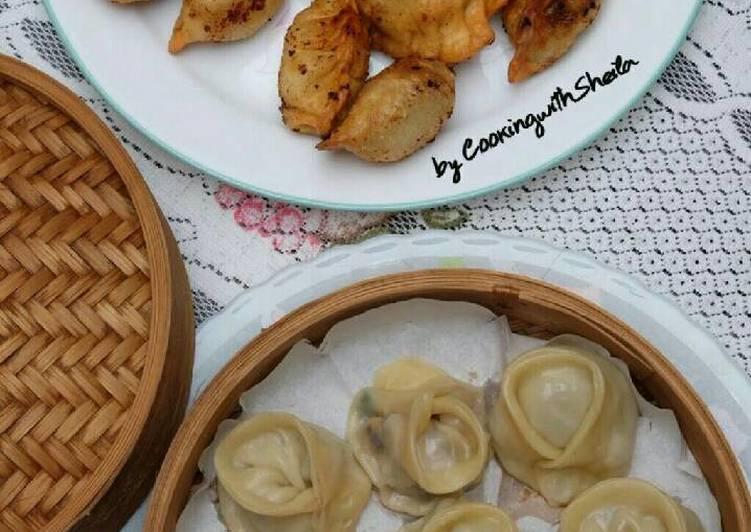 Mandu Korean Dumpling Cooking With Sheila