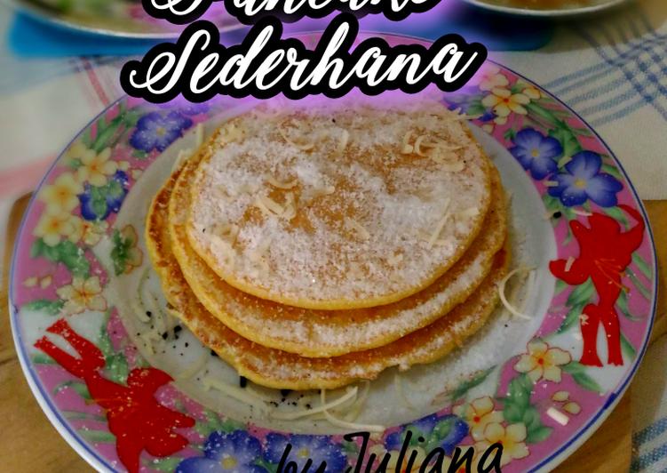Resep Pancake Sederhana, Enak Banget