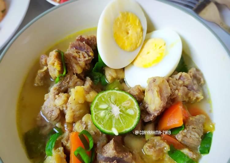 Soto Daging Lamongan - cookandrecipe.com