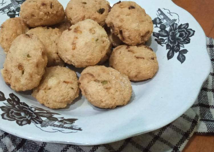 Perkedel Tahu Wortel Pedas (Tanpa Telur) - cookandrecipe.com