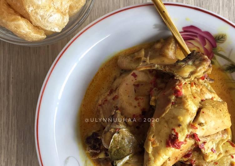 Week 31 GA 3 : Gulai Ayam!