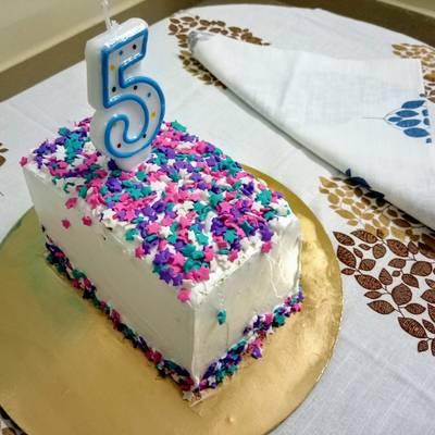 Marvelous Hidden Star Birthday Cake Recipe By Shrabani Acharya Chakraborty Personalised Birthday Cards Petedlily Jamesorg