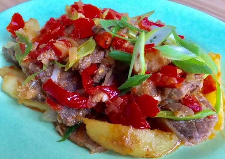 Daging Batokok (Hot Chillies Meat) Indonesian Recipe