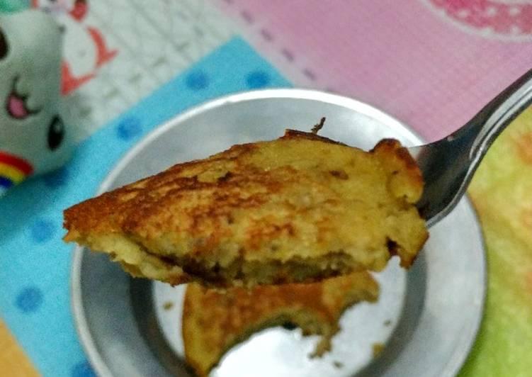 Resep Healthy Banana pancake Paling dicari