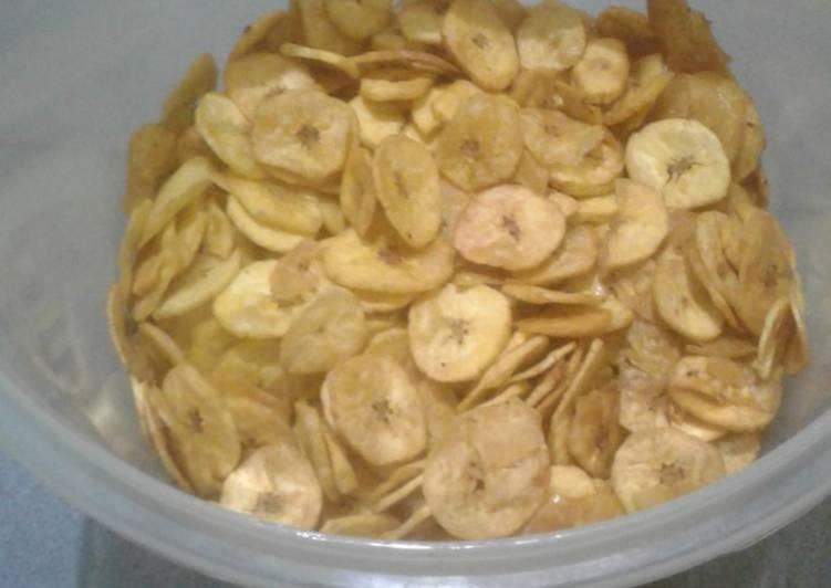 Keripik pisang gurih
