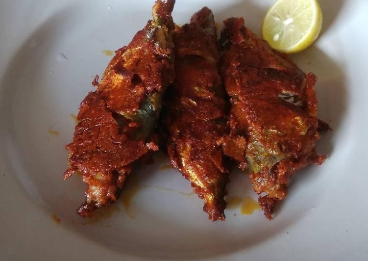 Step-by-Step Guide to Make Quick Bangda(mackerel)fry