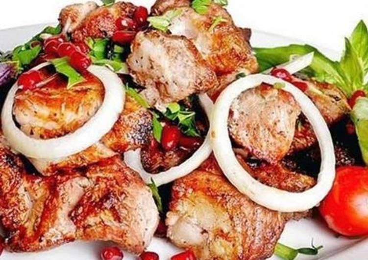 Маринад для шашлыка из свинины рецепт с фото - 1000.menu | 532x751