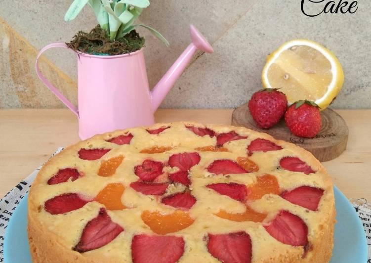 fruit-pastry-cake-dengan-2-telur