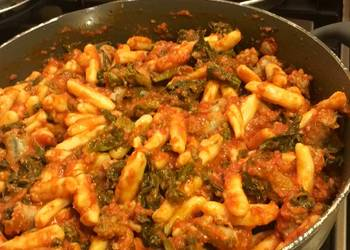 How to Prepare Perfect Ricotta Cavatelli with Sausage and Broccoli Rabe