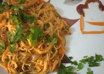 How to Make Delicious Semiya upma ebook cookpad turn 3