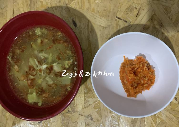 Cara Mudah Memasak Soto Ayam Bening, Lezat Sekali