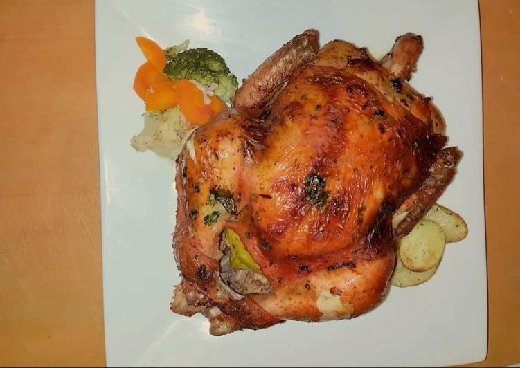 Quick and Easy Lemon Roast Chicken