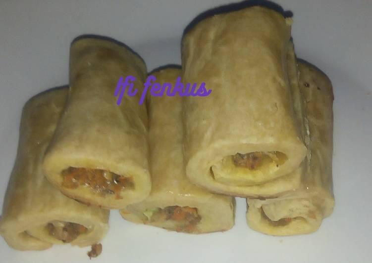 Recipe of Most Popular Sardine roll