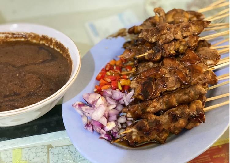 Sate Ayam Bumbu Kacang