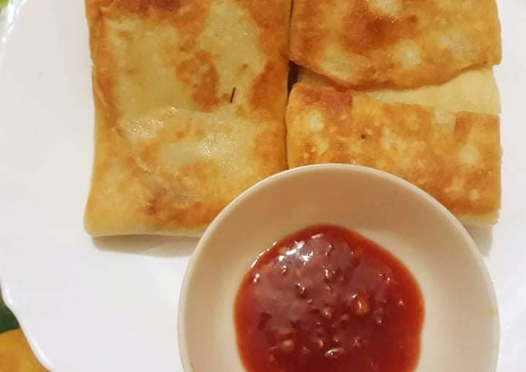 Recipe: Appetizing Chicken crepes