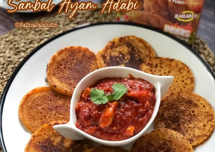 Lempeng & Sambal Ayam Adabi - velavinkabakery.com