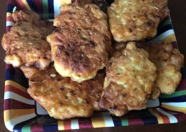 Recipe of Perfect Corn fritters