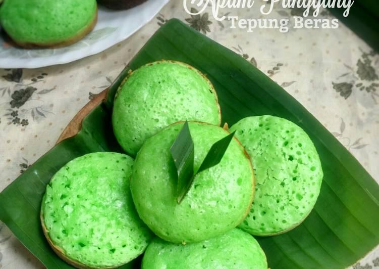 Apem Panggang Tepung Beras - cookandrecipe.com