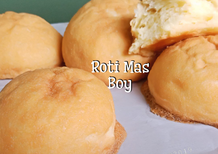 Roti Mas Boy aka Mexican Coffe Bun