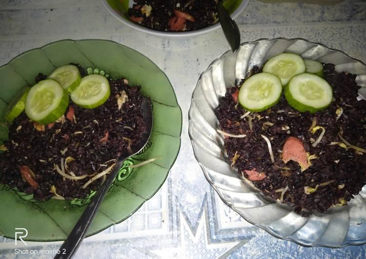 Resep nasi goreng hitam