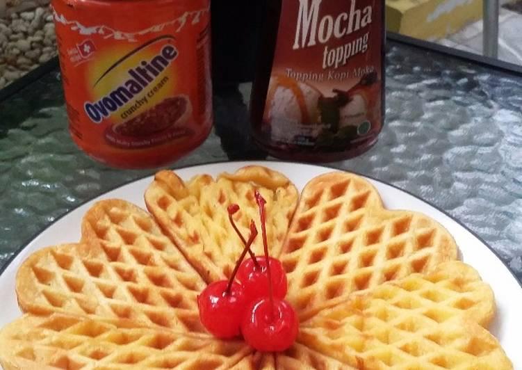 Resep Waffle ala bunda jkb 😉 Paling dicari