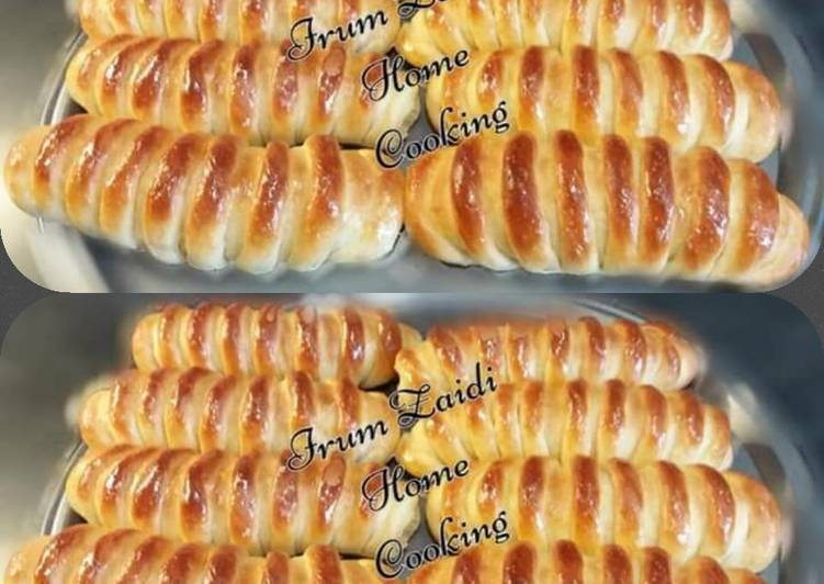 Simple Way to Make Super Quick Homemade �Caterpillar Sweet Buns�