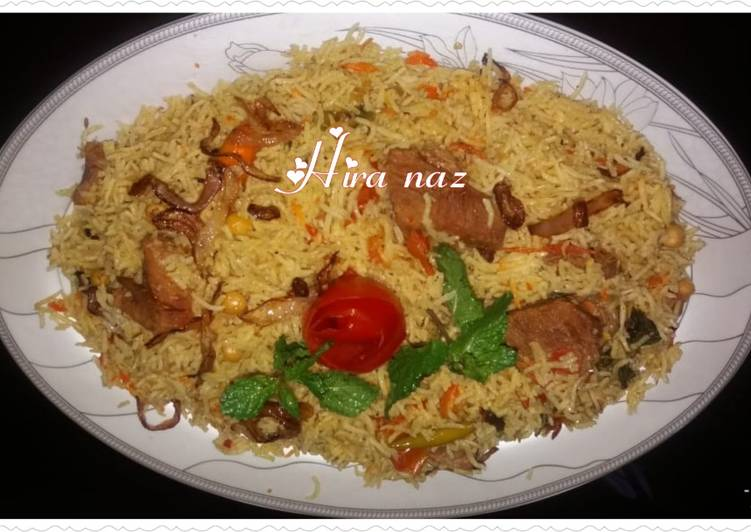What are some Dinner Easy Any Night Of The Week Beef chana Biryani