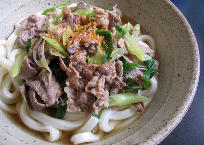 Beef Udon Soup