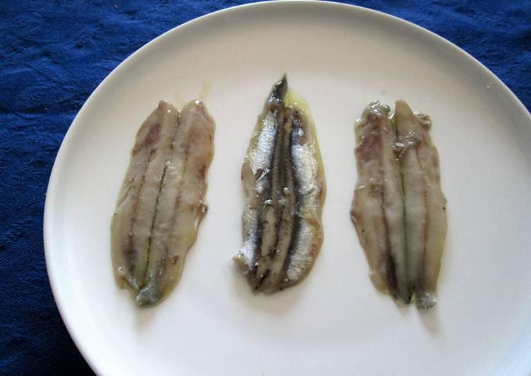 Ricetta Acciughe marinate