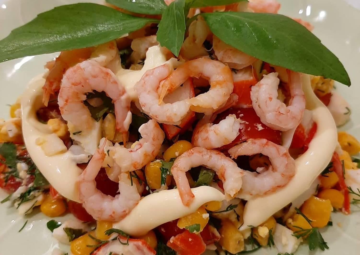 свою сознательную рецепты салатов из креветок с фото простые вязаных шедевров, созданных