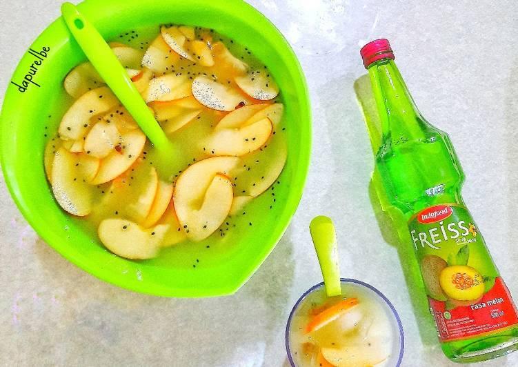 Sup Buah Praktis 🍎🍇🍊 #dapurelbeweek19