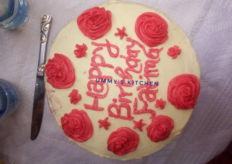 Recipe: Tasty Birthday Cake II