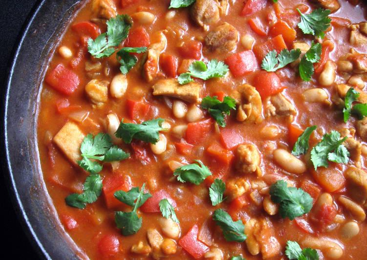 Chicken & White Beans Chilli Con Carne