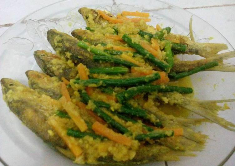 Pesmol Bandeng Sayuran