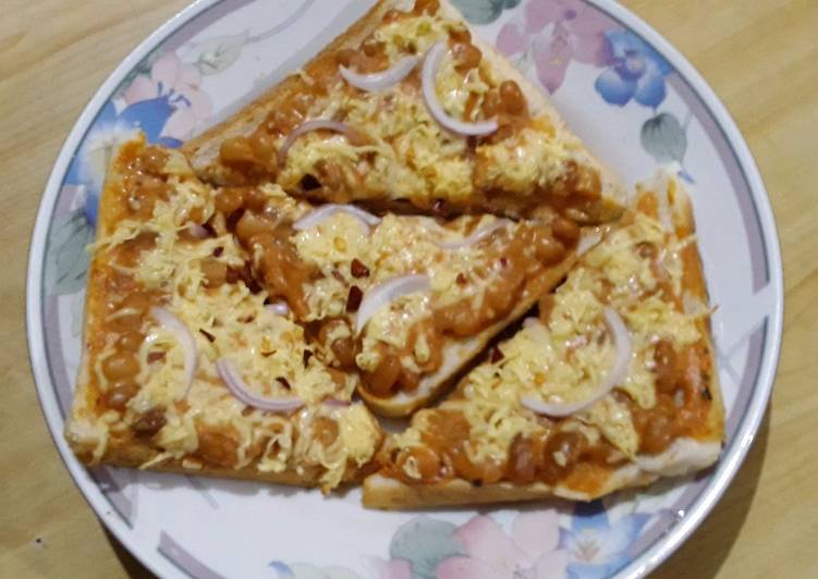 Recipe: Yummy Baked beans toast