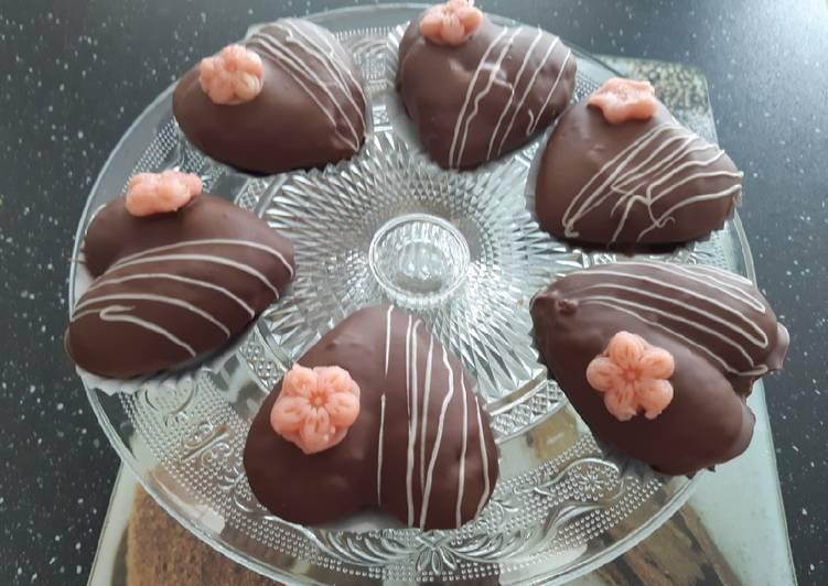 Facile Pas Cher  Les coeurs au caramel