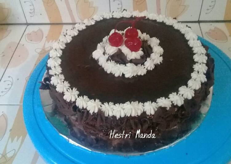Bagaimana Caranya Membuat Enak Birthday Cake (base Cake Brownies)