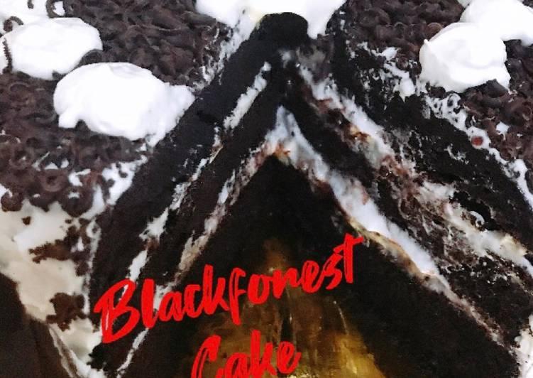Blackforest Cake (Brownis kukus ala Ny. Liem)