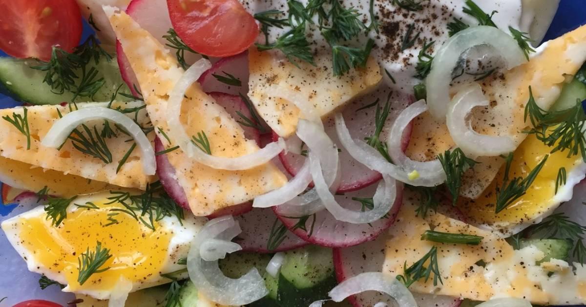 Салат шашлычный рецепт с фото