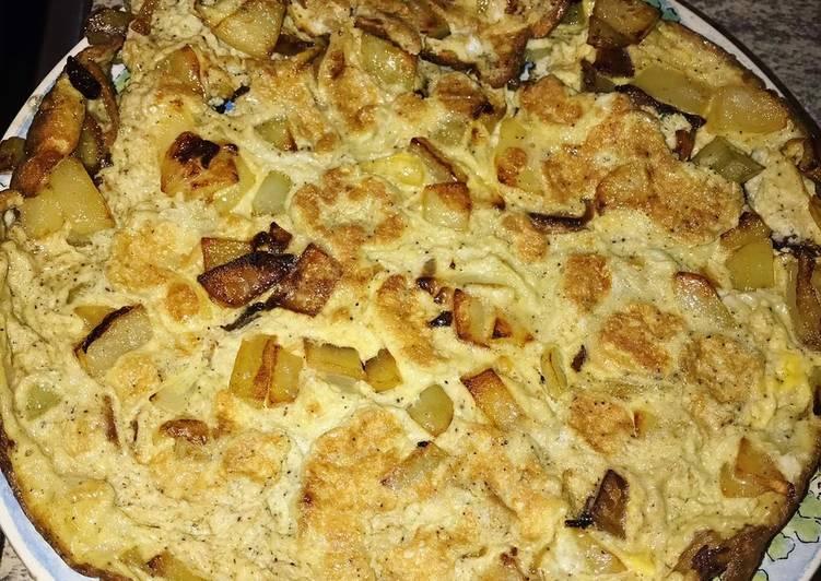 Omelette de pommes de terre
